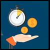 Economize tempo e dinheiro